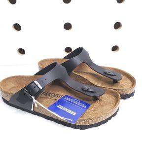 NWT Birkenstock Gizeh Black Sandals